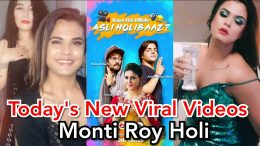 Montii-roy-new-video-Holi-2020-monti-roy-new-tik-tok-video-2020-monty-roy-viral-video-VMate
