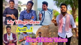 My-Village-Show-Anil-New-Latest-TikToK-Videos-2020-Telangana-Folk-Songs-TikTok-Telugu-Topes-TikTok